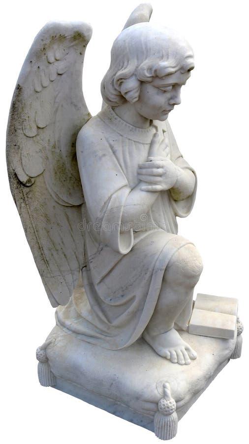 Angel Praying à genoux photos libres de droits