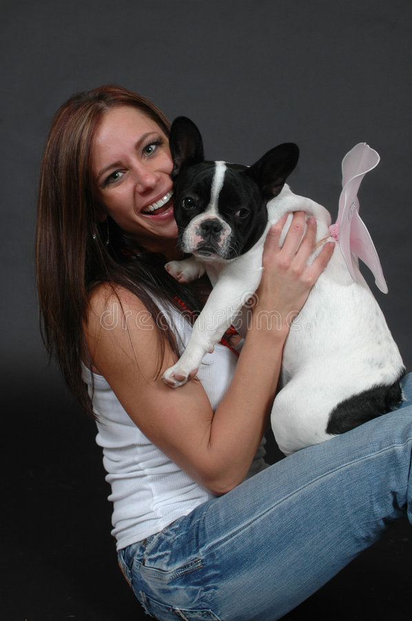 Download Angel Puppy stock photo. Image of canine, costume, care - 4039874