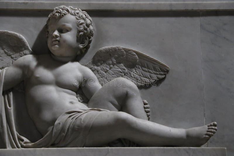 Angel in Rome stock photos