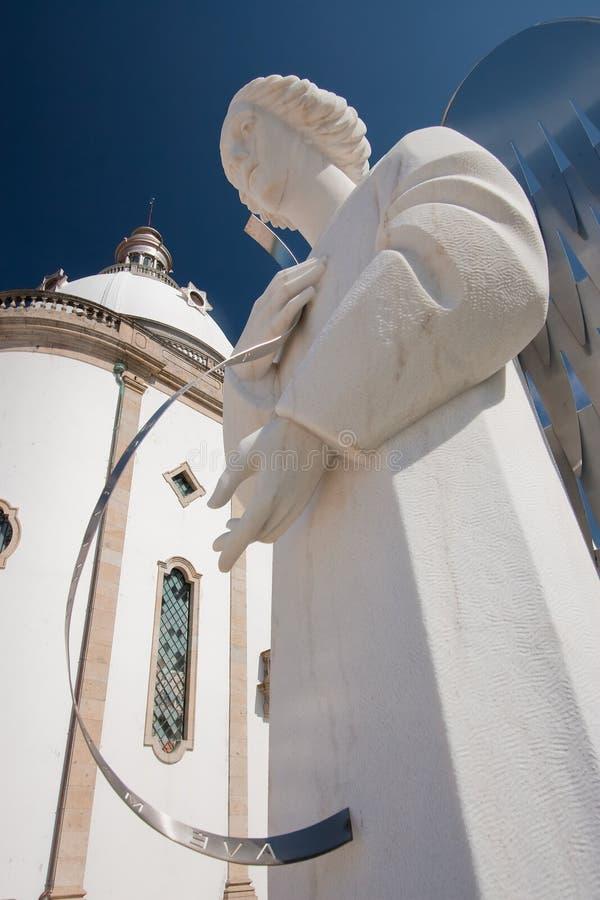 Download Angel in Sameiro, Braga stock photo. Image of colour - 29044638