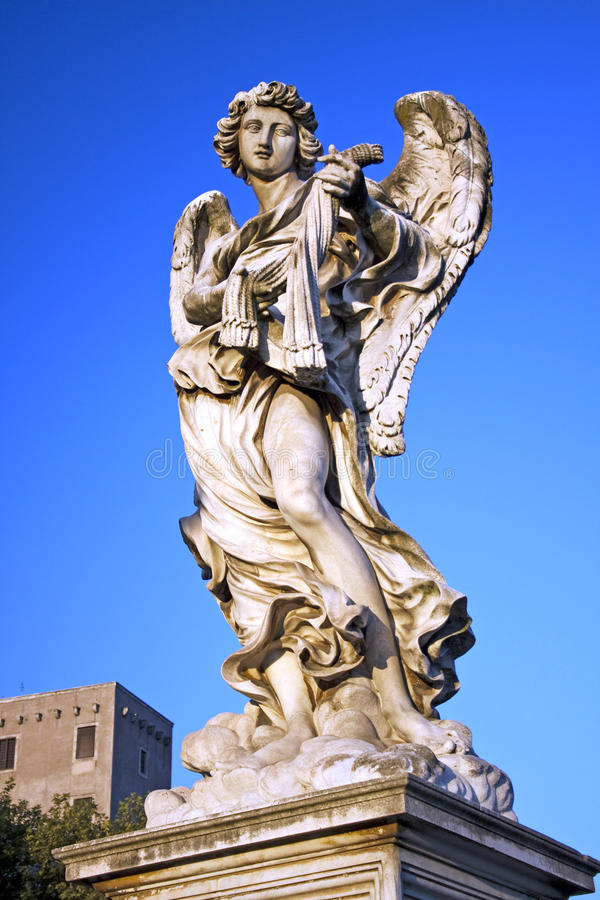 Angel with Scourge, Rome, Italy