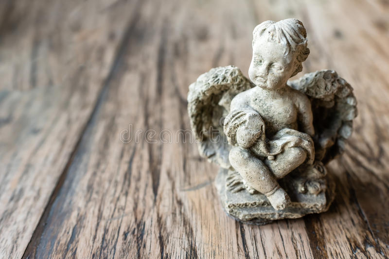 Angel Sculpture foto de stock royalty free