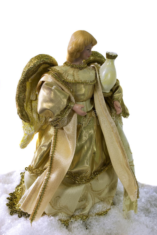 Download Angel in the snow stock image. Image of figurine, beautiful - 16297541