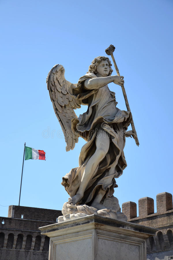 Download Angel with the Sponge stock photo. Image of nobody, italy - 27204812