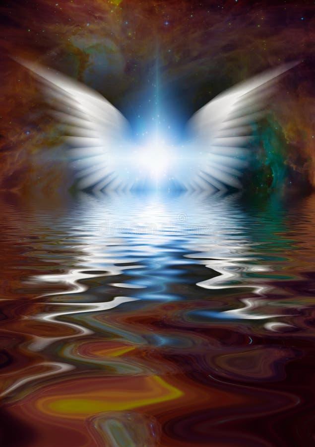 Angel Star ilustração stock