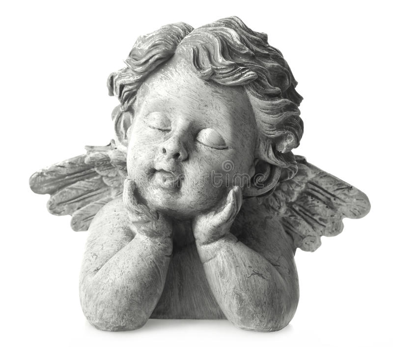 Angel statue royalty free stock image