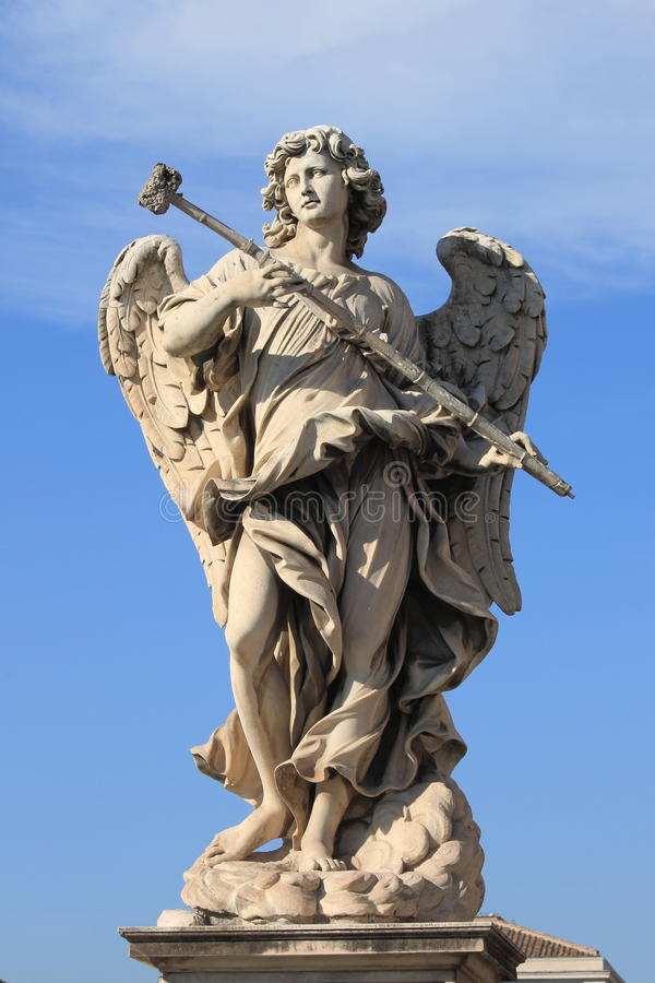 Angel statue stock image. Image of faith, holy, blessing ...