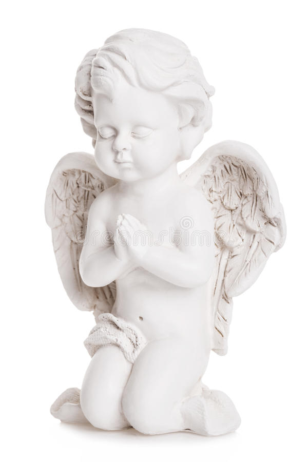 Download Angel statue stock photo. Image of ceramic, thinking - 28381642
