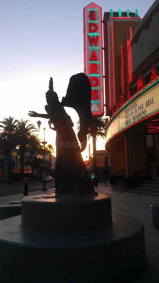 Angel Statue royalty-vrije stock afbeeldingen