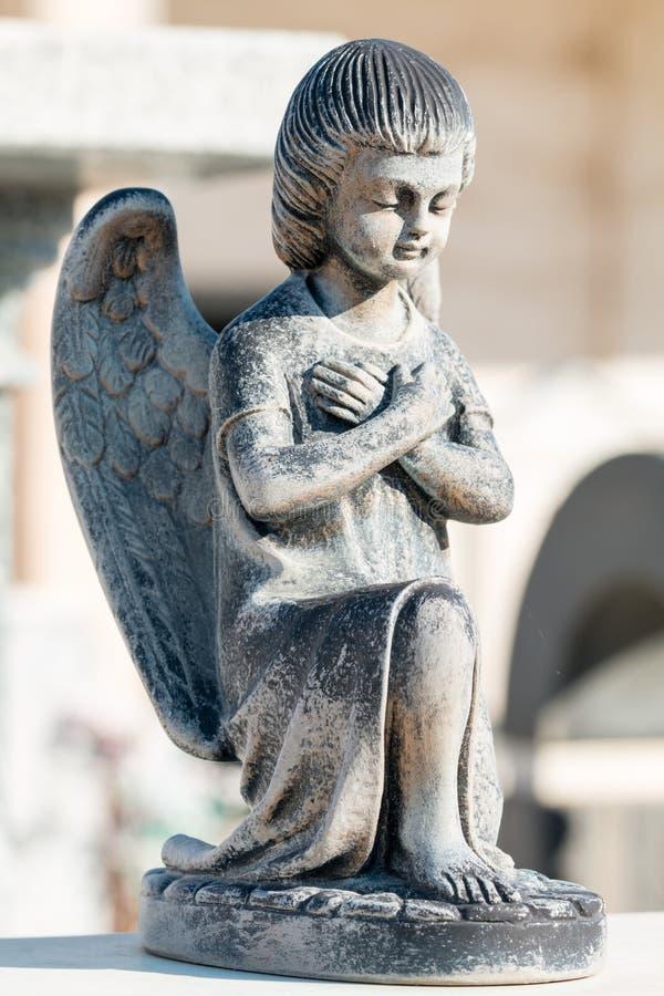 Angel Statue stock afbeeldingen