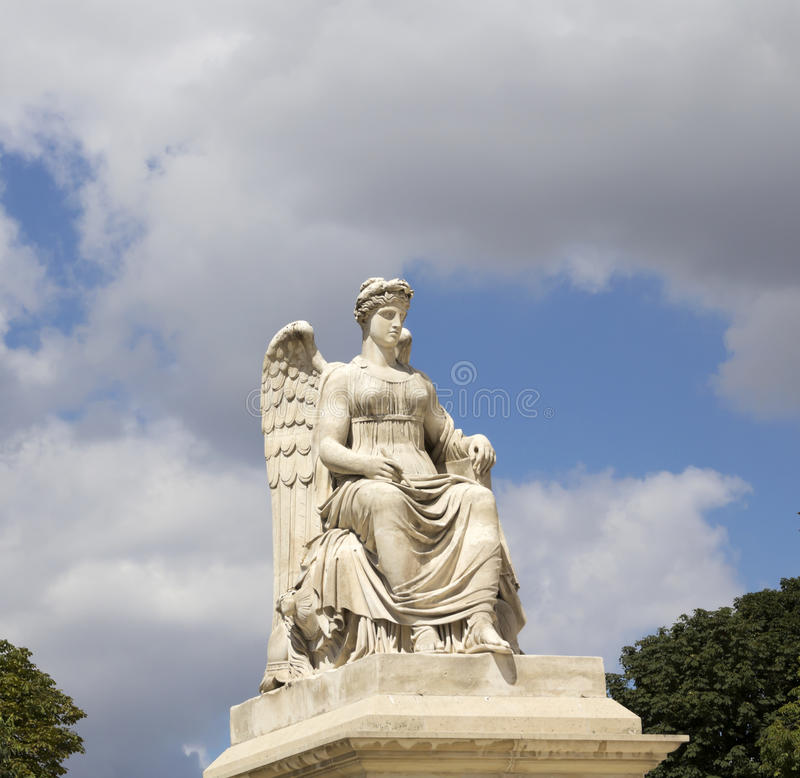 Free Angel Statue At Triumphal Arch Royalty Free Stock Images - 83507389