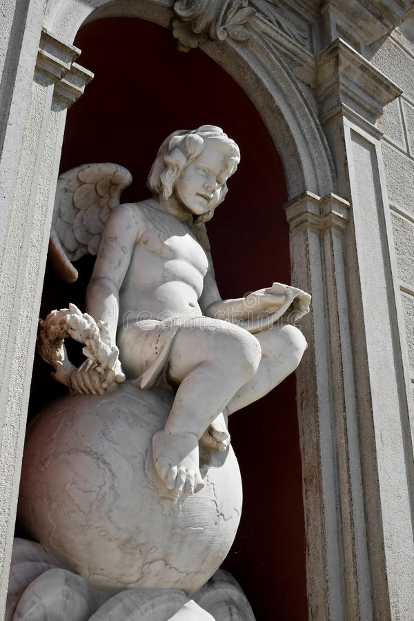 Download Angel statue in Palmanova stock photo. Image of medieval - 10809442
