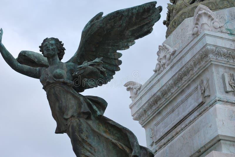 Angel Statue Rome Italy immagine stock libera da diritti