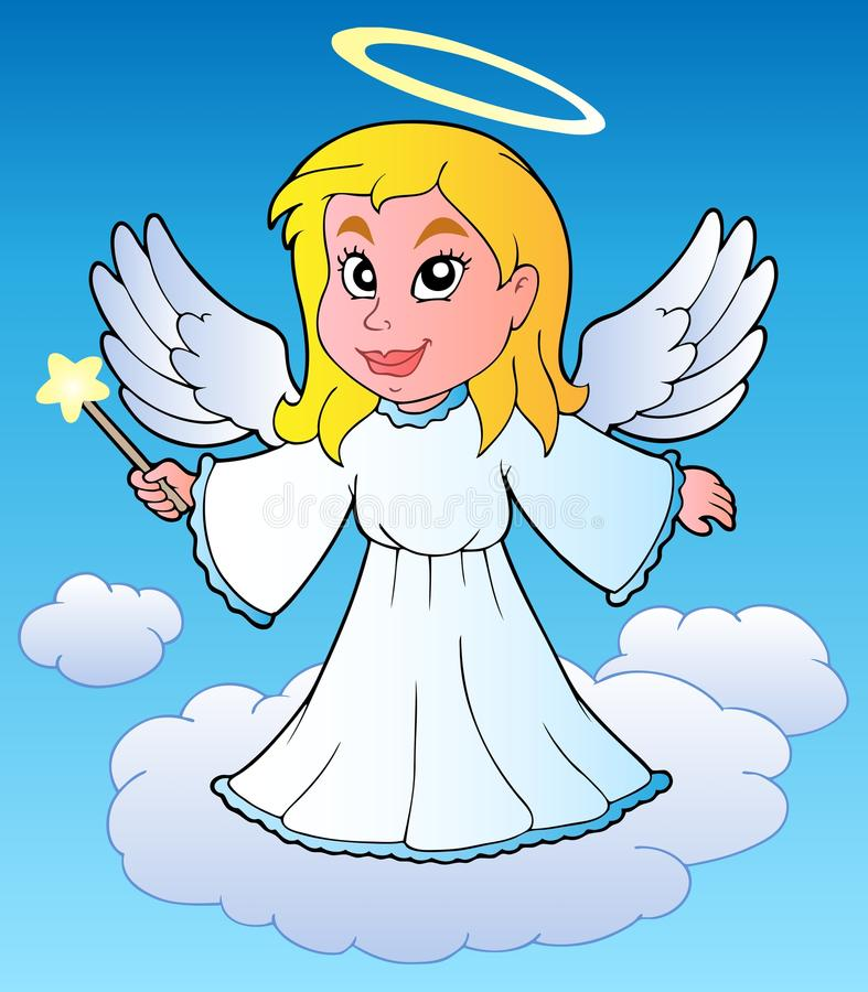 Download Angel theme image 1 stock vector. Image of traditional - 22232209