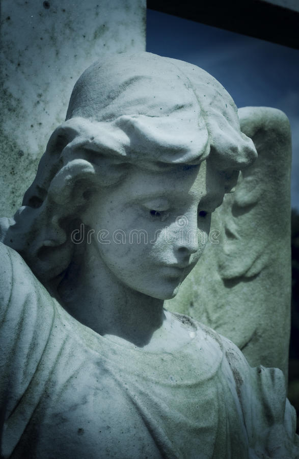 Download Angel tombstone stock image. Image of gravestone, tomb - 10008031