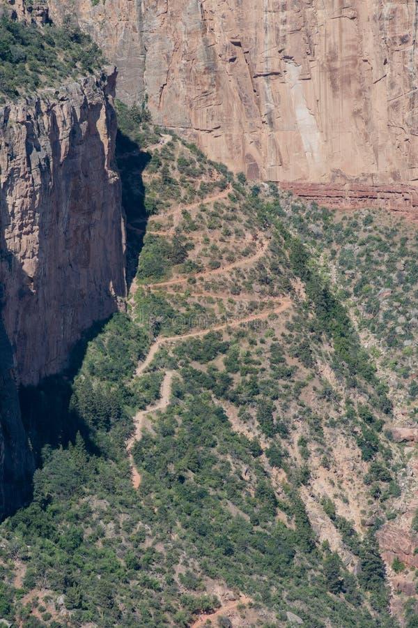 Angel Trail intelligente su Sunny Day immagini stock