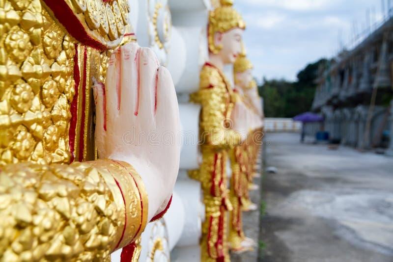 Download Angel Wall Of Buddhist Temple In Bodhgaya Stupa Or Phuthakaya Pa Stock Photo - Image: 83704953
