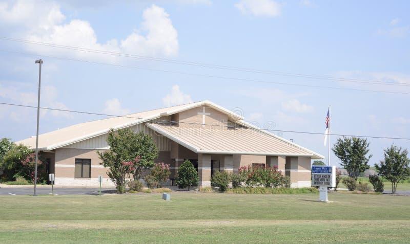 Angel Way Church, Marion, Arkansas fotos de archivo libres de regalías