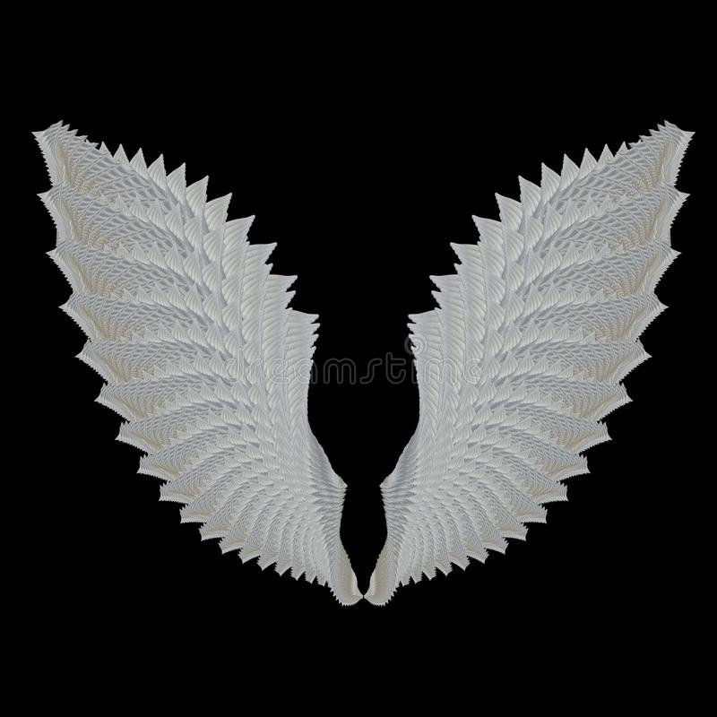 Angel Wing Royalty Free Stock Photo