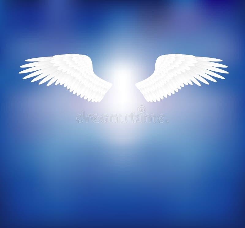 Angel wings royalty free illustration