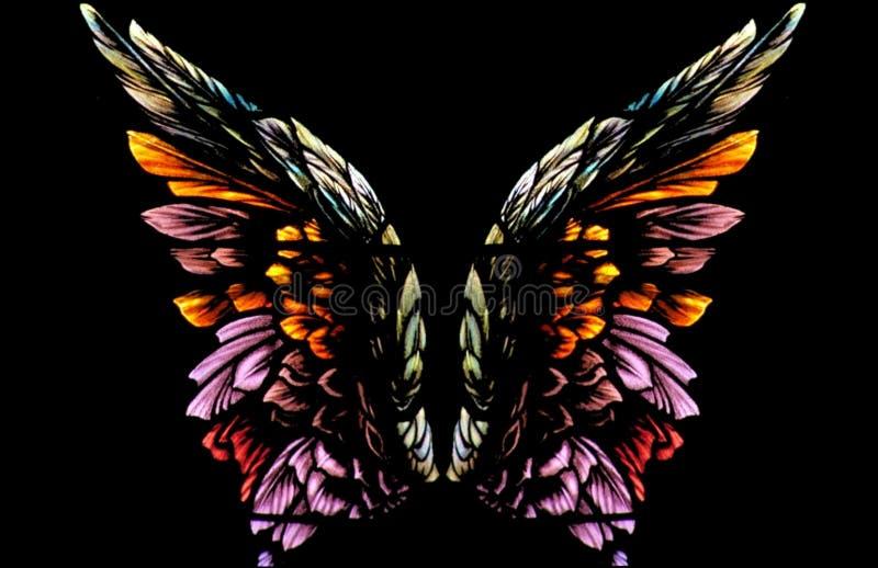 Angel Wings stock illustration