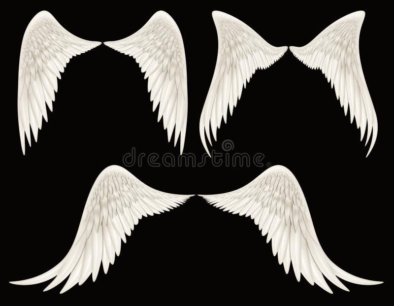 Angel Wings stock illustrationer
