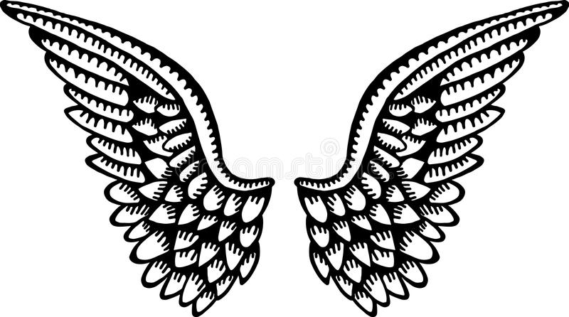 Angel Wings vector illustratie
