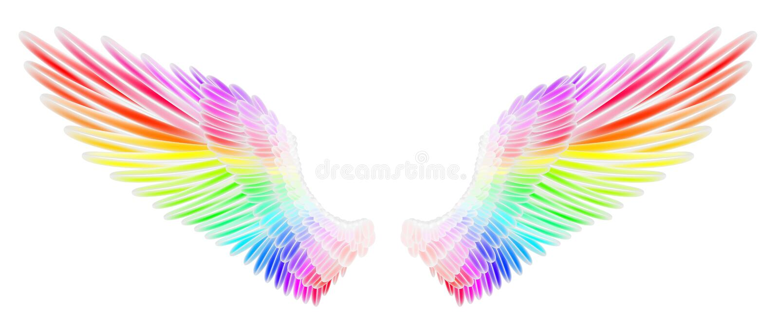 Angel Wings illustration de vecteur