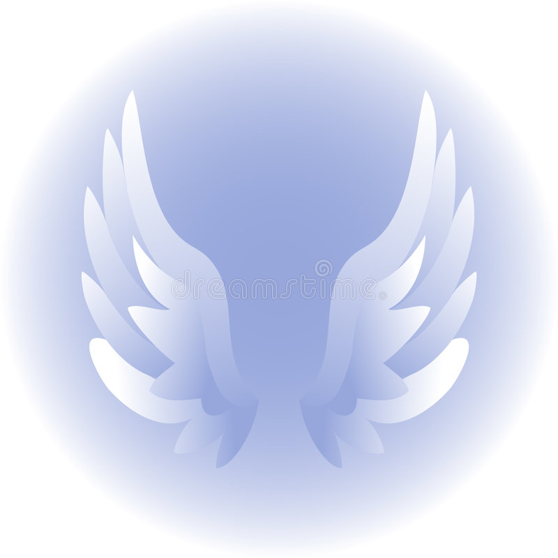 Free Angel Wings/eps Royalty Free Stock Photography - 1221807