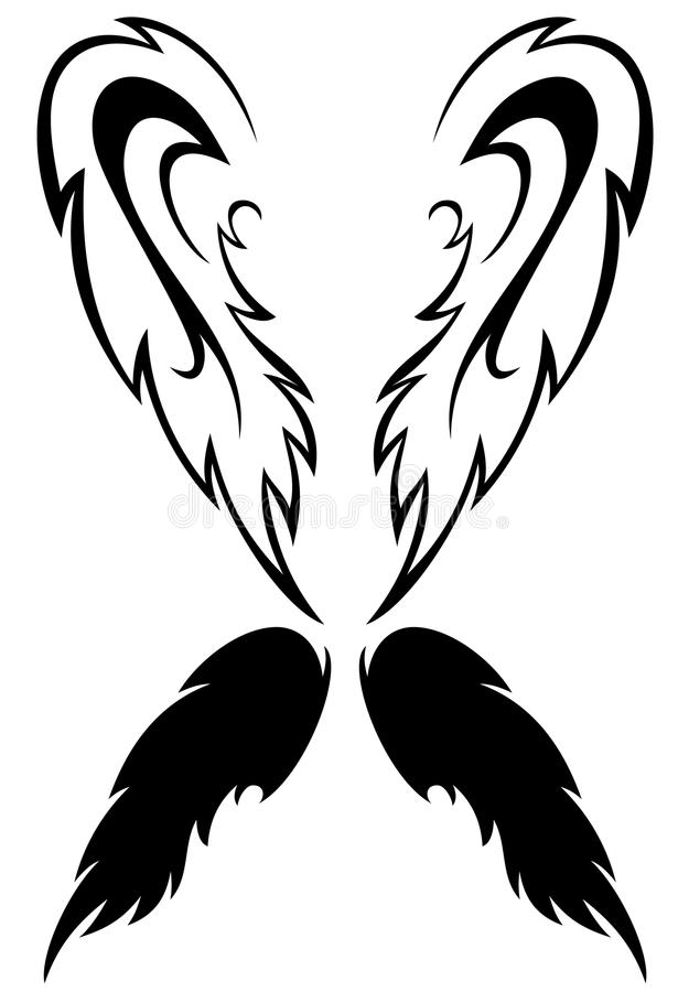 Download Angel wings vector stock vector. Illustration of flight - 21446113