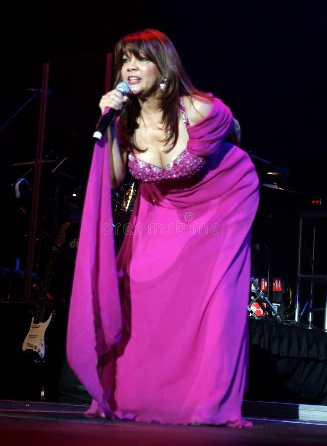 Angela Carrasco performs in concert stock photos