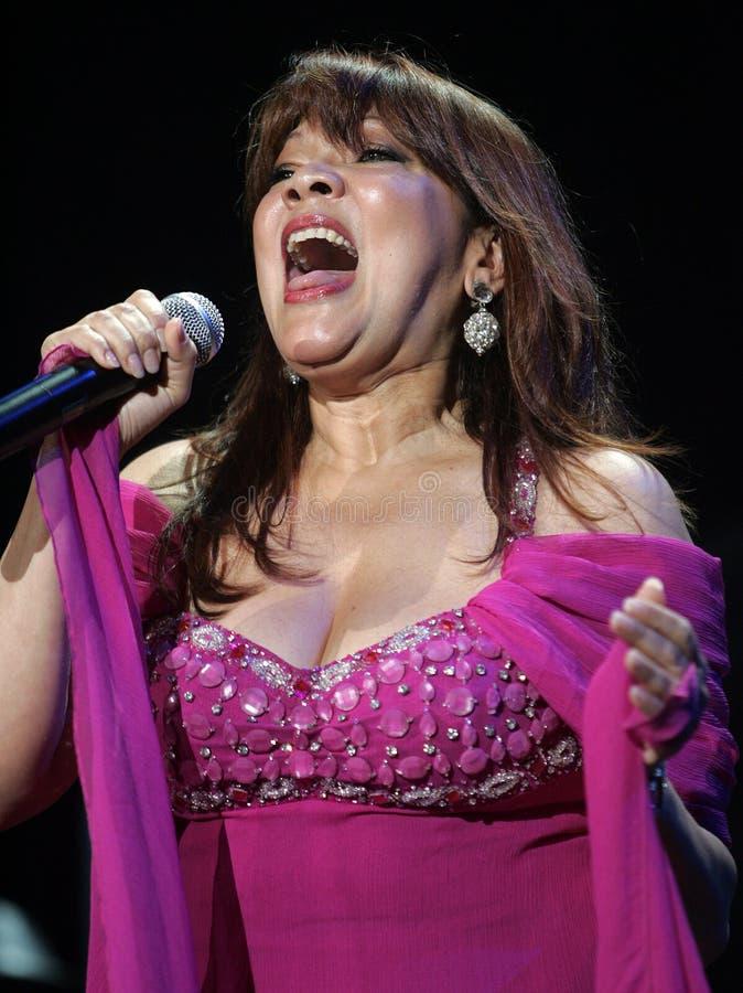 Angela Carrasco performs in concert royalty free stock photos