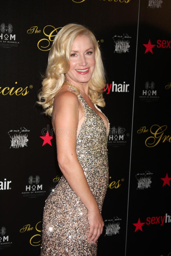 Download Angela Kinsey Arrives At The 37th Annual Gracie Awards Gala Editorial Image - Image: 25274765