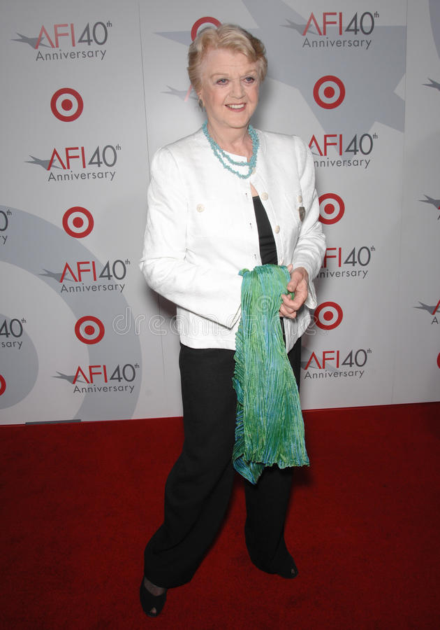 Angela Lansbury photo stock