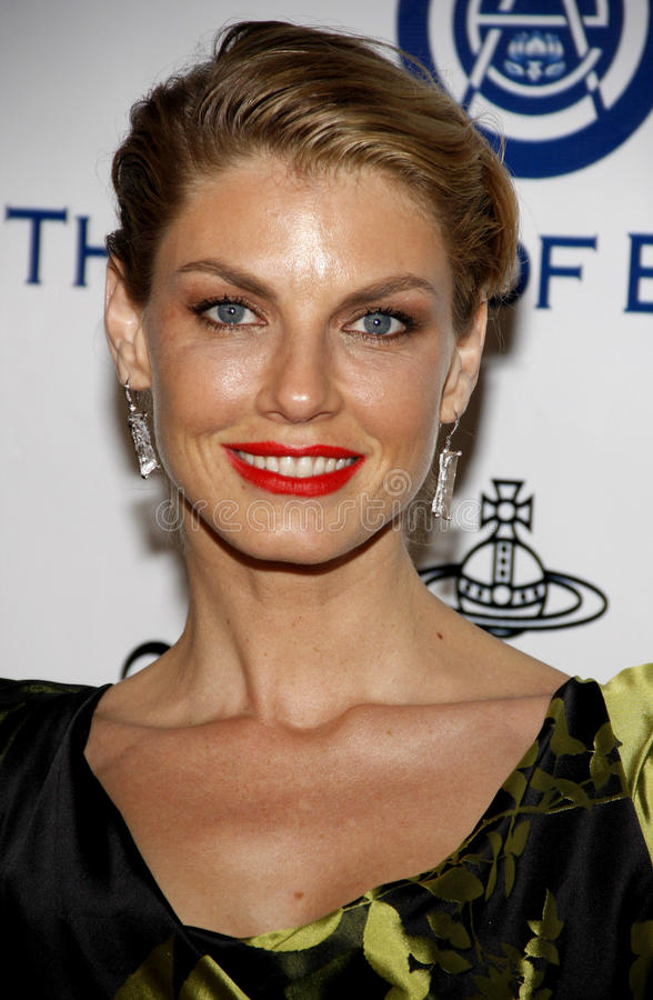 Angela Lindvall photographie stock