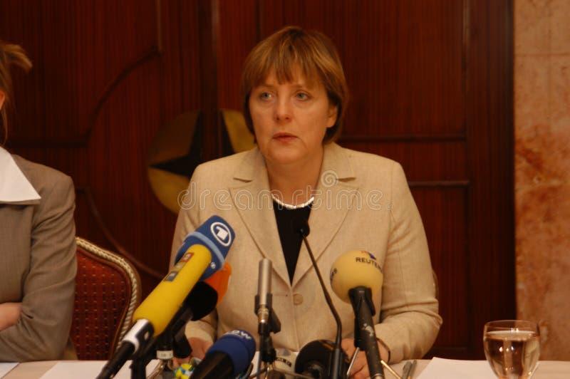Angela Merkel. German Chancellor Angela Merkel visited Istanbul in October 2006 royalty free stock images