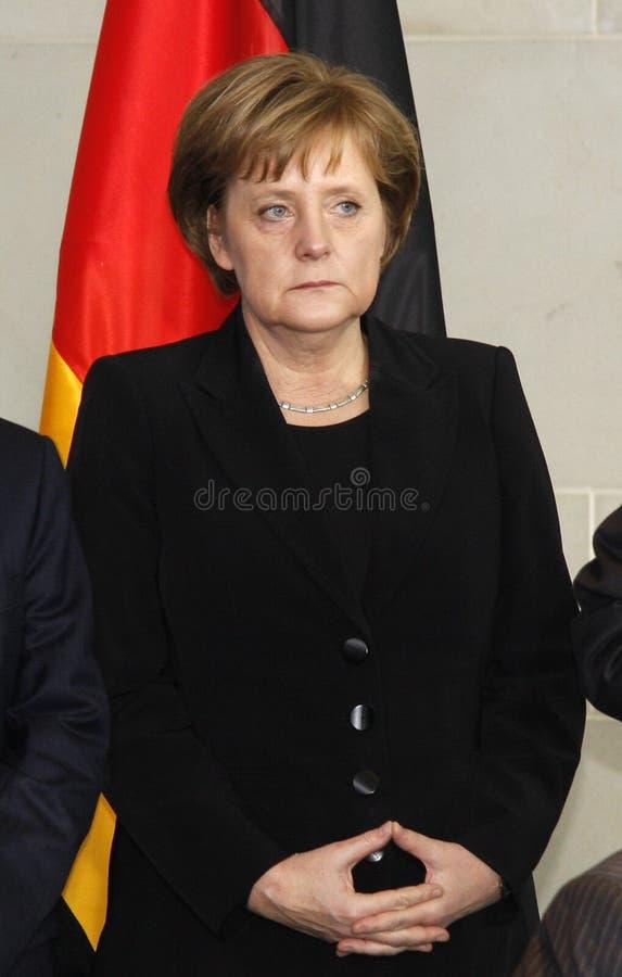 Angela Merkel 免版税图库摄影