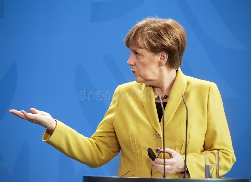 Angela Merkel 库存图片