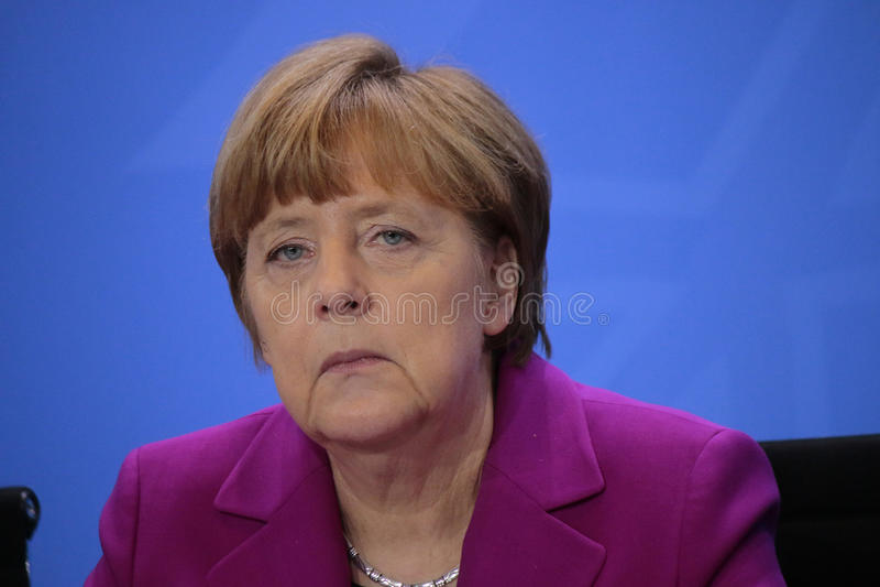 Angela Merkel immagini stock