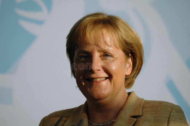 Angela Merkel stockbilder