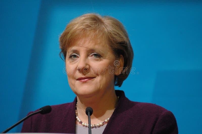 Angela Merkel. DECEMBER 5, 2005 - BERLIN: Chancellor Angela Merkel during a press conference in the Konrad Adenauer House in Berlin stock images