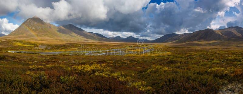 Angelcomb Peak Yukon stock image