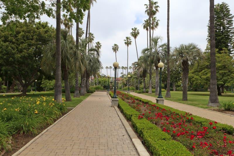 angeles Beverly Hills los park arkivbild