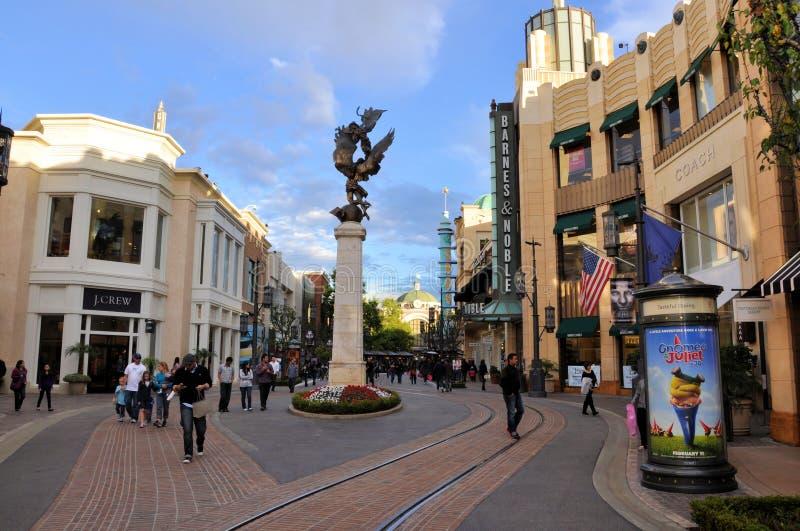 angeles center los shopping royaltyfria bilder