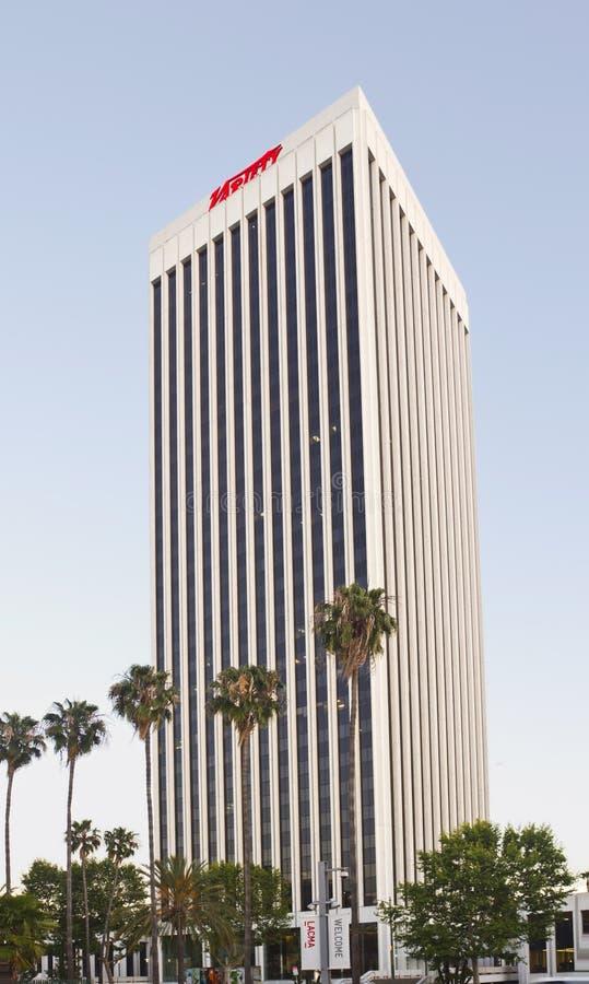 Angeles Headquarters Los-tidskriftvariation Redaktionell Arkivfoto