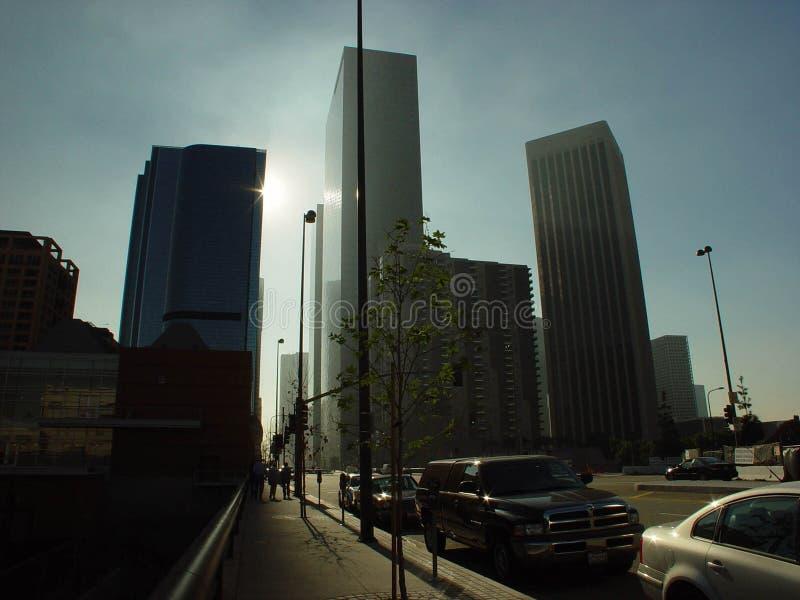 angeles i stadens centrum los royaltyfri foto