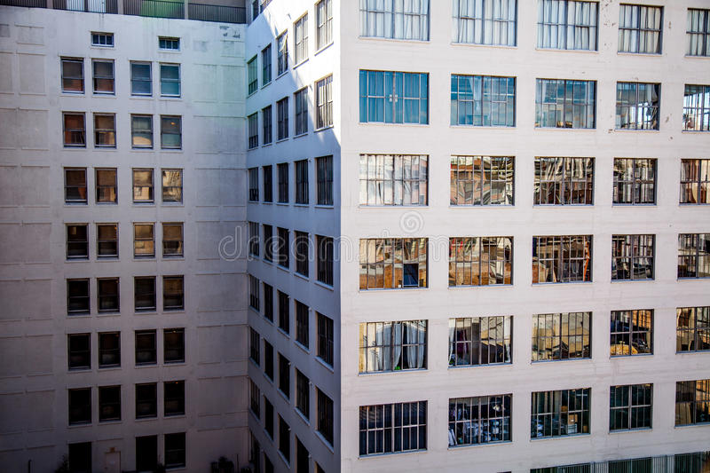 angeles i stadens centrum los fotografering för bildbyråer