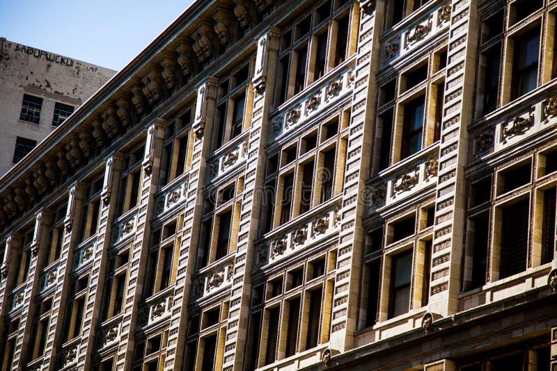 angeles i stadens centrum los arkivfoton