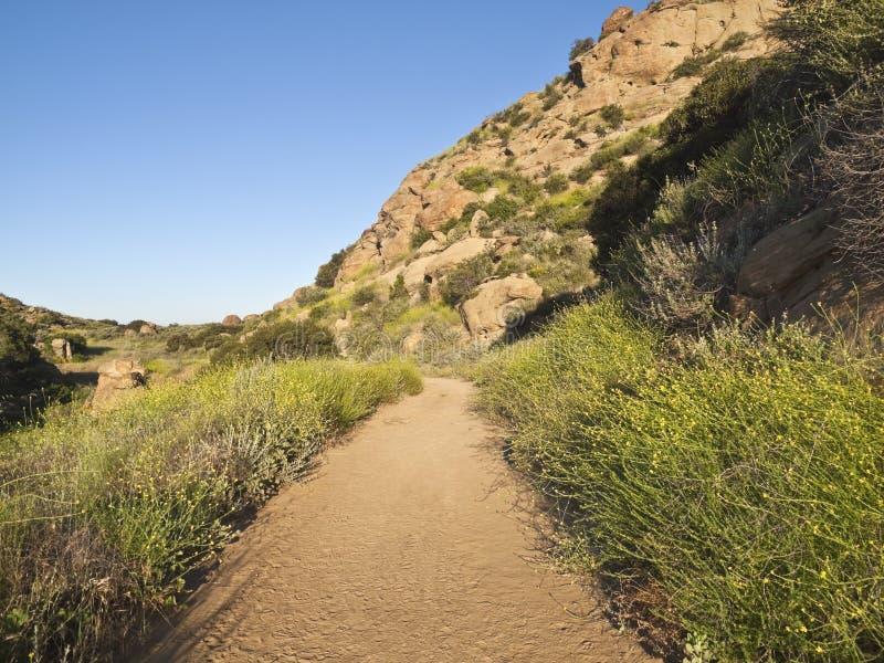 angeles Kalifornien los nära det steniga parkmaximumet arkivfoton