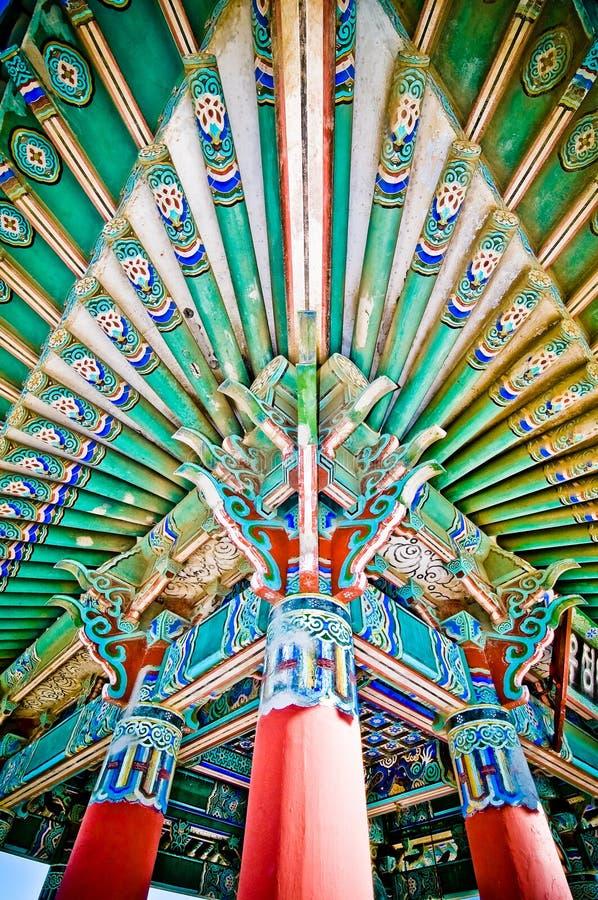 angeles koreansk los monument royaltyfri foto